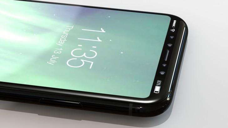 iPhone 8, avistado en nuevos renders
