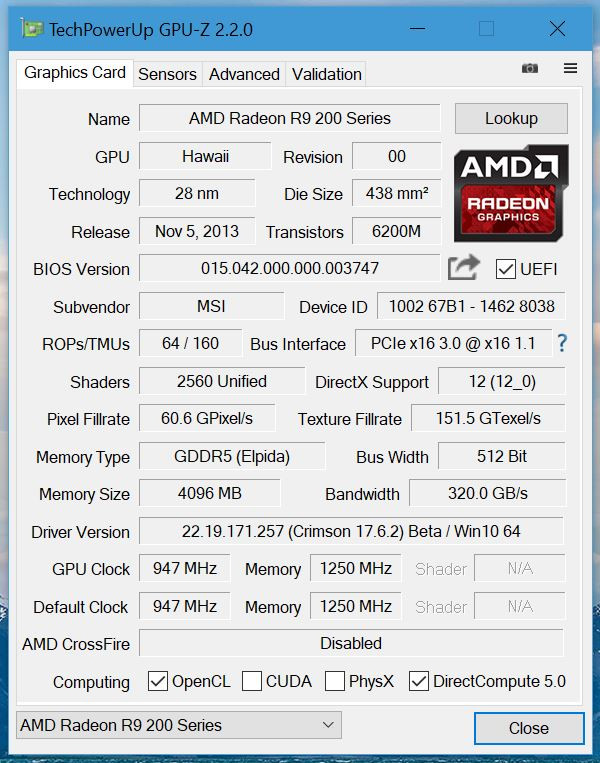 TechPowerUp GPU-Z 2.2.0 ya disponible