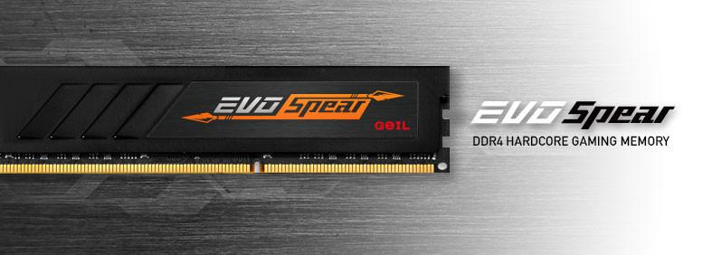 GEIL anuncia EVO Spear, sus nuevos kits de memoria DDR4
