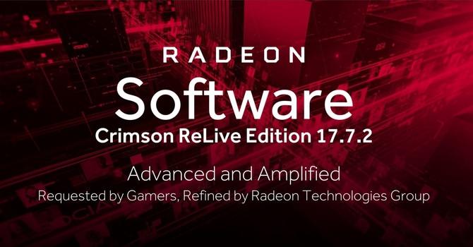 AMD Crimson ReLive Edition 17.7.2 WHQL ya están disponibles