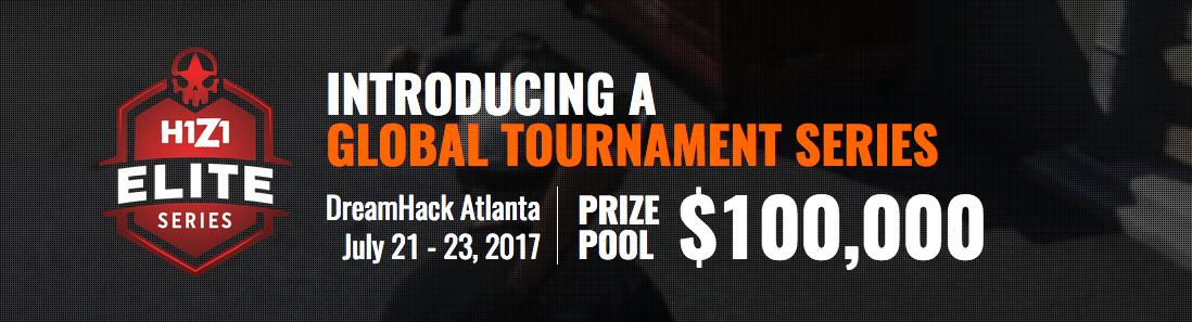 """NP: El nuevo campeonato mundial de H1Z1, """"Elite Series"""", arranca este fin de semana en DreamHack Atlanta"""