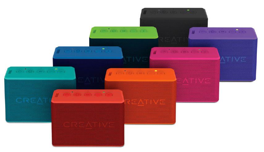 NP: Creative estrena nuevos colores para el verano en su línea de altavoces Bluetooth Muvo 2C