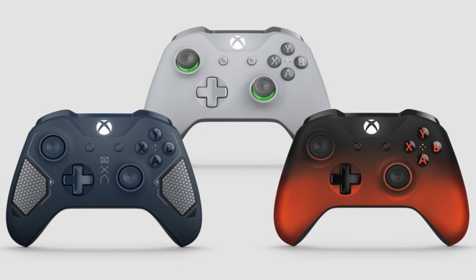 Microsoft presenta tres nuevos mandos para Xbox One