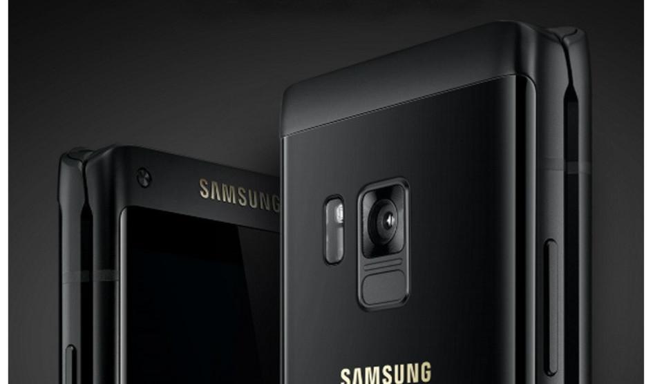 Samsung lanza su flip phone W2018