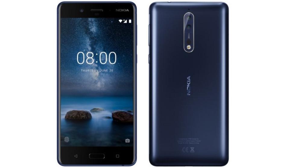 Nokia 8 con Android 8 y nueva filtración de la interfaz de la cámara