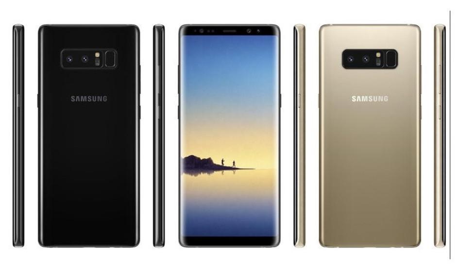 Samsung Galaxy Note 8 confirmada la batería