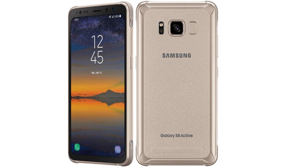 Samsung S8 Active y los derechos de AT&T