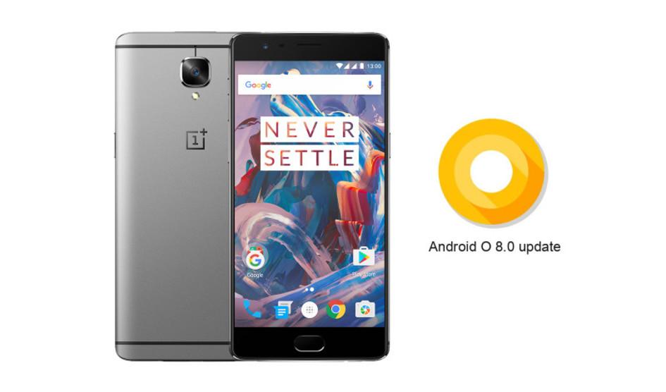 Andorid O será la ultima actualización para OnePlus 3 y 3T