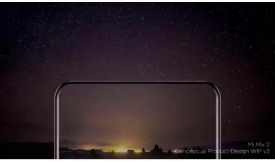 Xiaomi Mi Mix 2 visto casi sin biseles