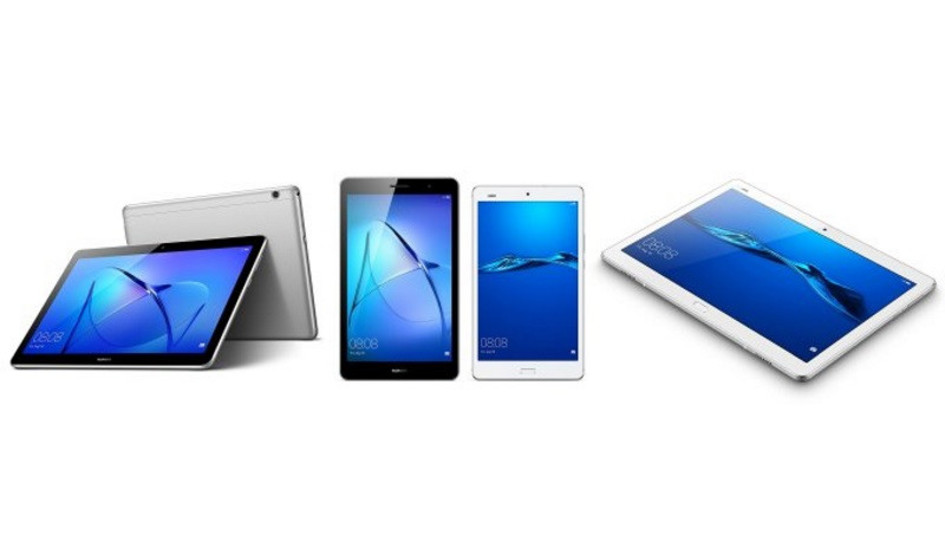 Huawei ya a la venta sus nuevas tablets