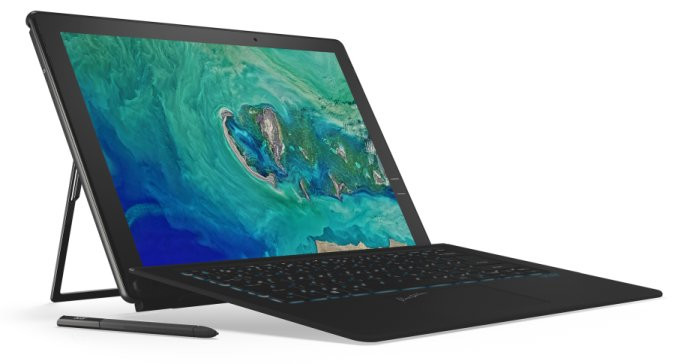 IFA 2017: Acer presenta Swift 5, Spin 5 y Switch 7 Black Edition con Intel Coffe Lake