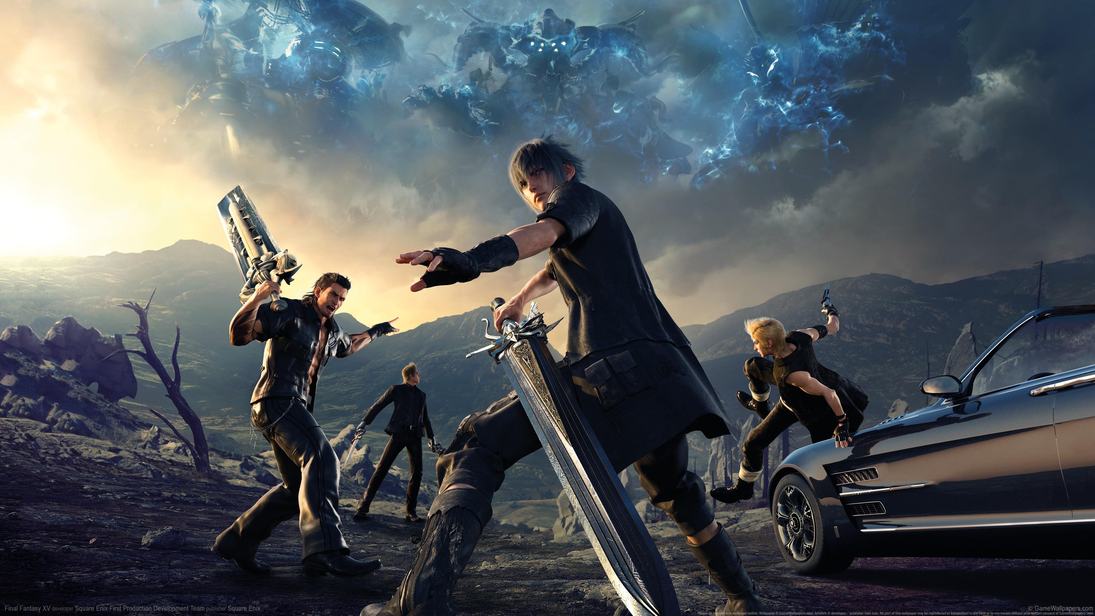 Final Fantasy XV prepara el terreno para su DLC multijugador