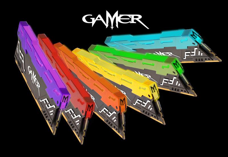 GALAX actualiza sus memorias DDR4 Gamer III con iluminación LED RGB