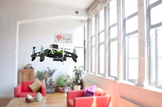 NP: Drones que hacen la vuelta al cole más fácil