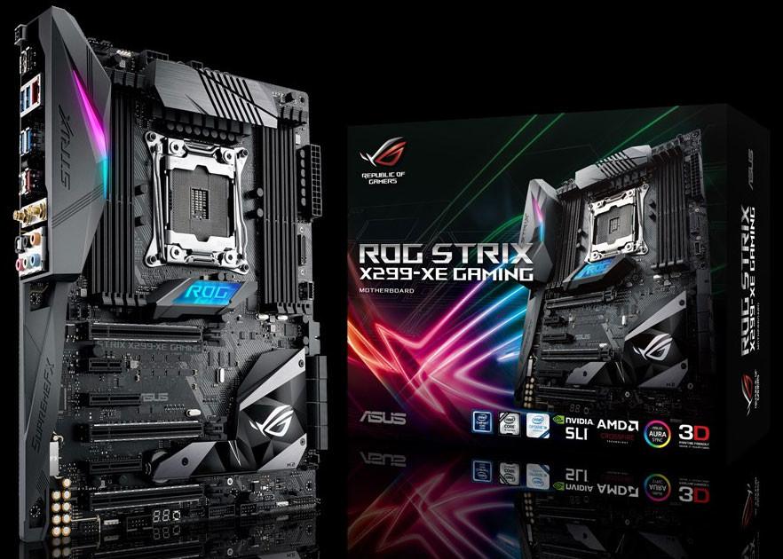 ASUS presenta la ROG STRIX X299XE GAMING