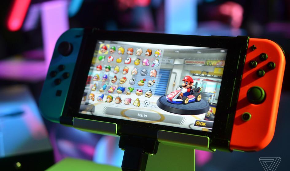 Nintendo vendió más de 5 millones de unidades Switch