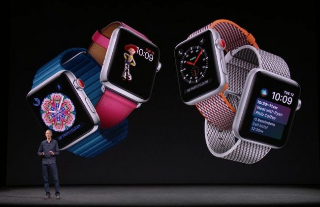 Apple Watch Series 3 ya es oficial