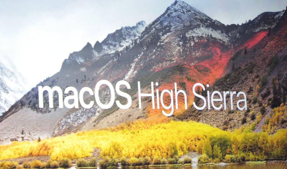 El nuevo macOS High Sierra llegará el 25 de Septiembre