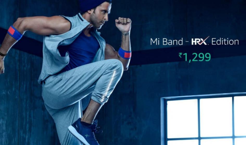 Xiaomi Mi Band HRX Edition ya es oficial