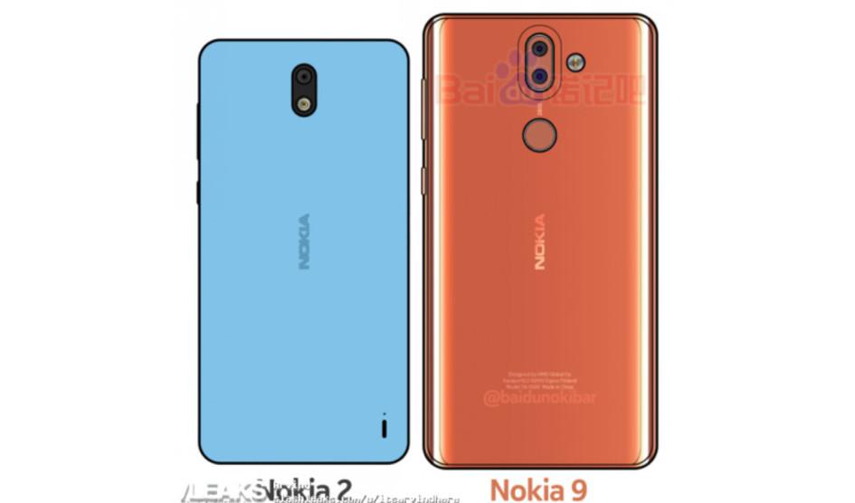 Nokia 9 y Nokia 2 avistados