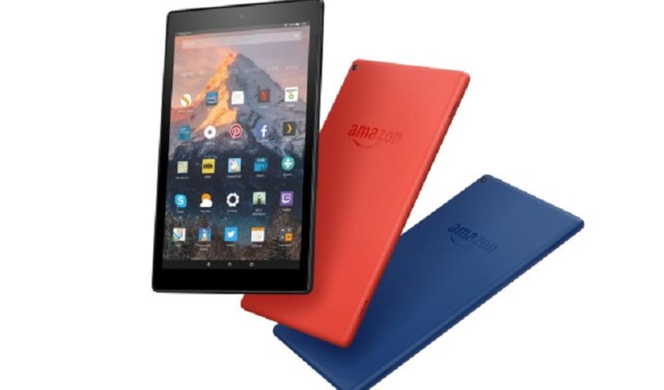 Amazon presenta su nueva tablet Fire HD 10