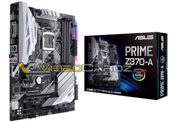 Avistadas varias placas base ASUS Z370