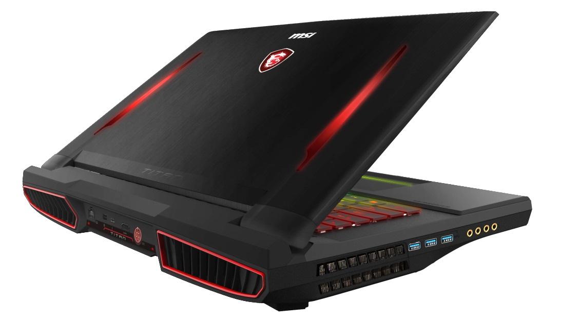 MSI lanza el portátil gaming GT75VR Titan