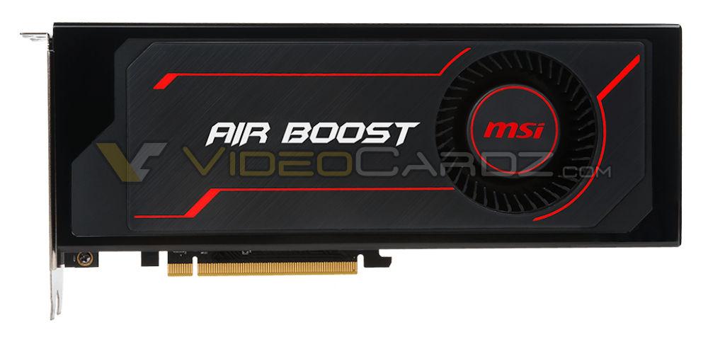 MSI Radeon RX Vega 64 Air Boost avistada