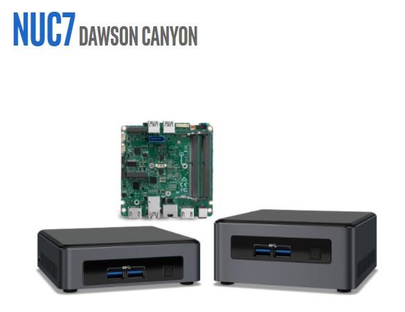 Intel lanza sus nuevos NUCs Dawson Canyon
