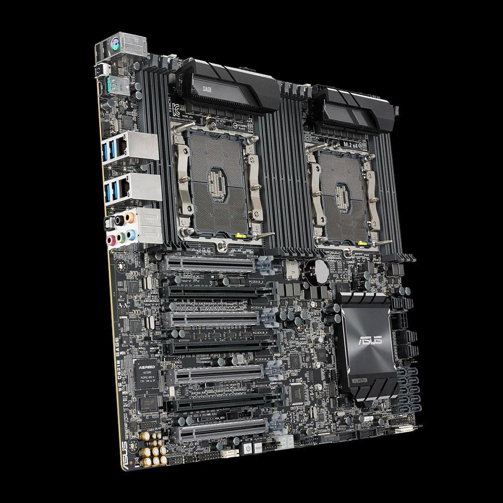ASUS presenta su nueva joya WS C621E SAGE Dual Xeon Overclocking