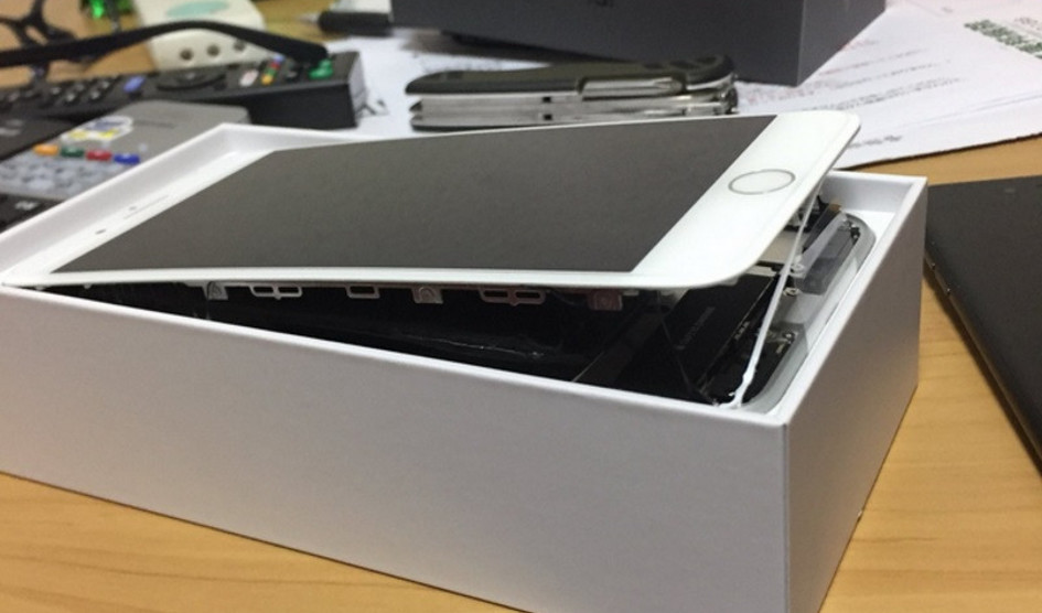 Nuevo caso de iPhone 8 Plus que explota