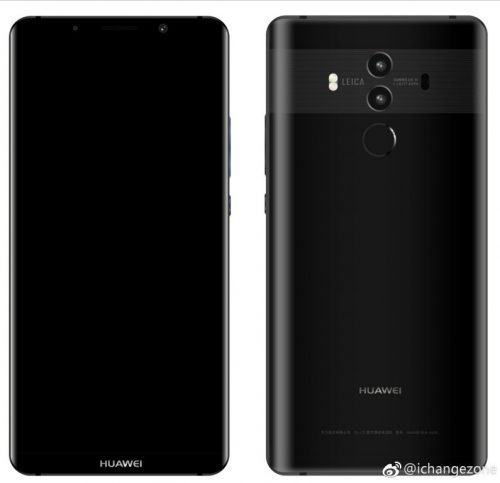 Nuevos detalles sobre Huawei Mate 10 Pro
