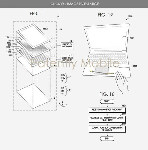 Los futuros portátiles de Samsung reconocerán los gestos del usuario en el aire