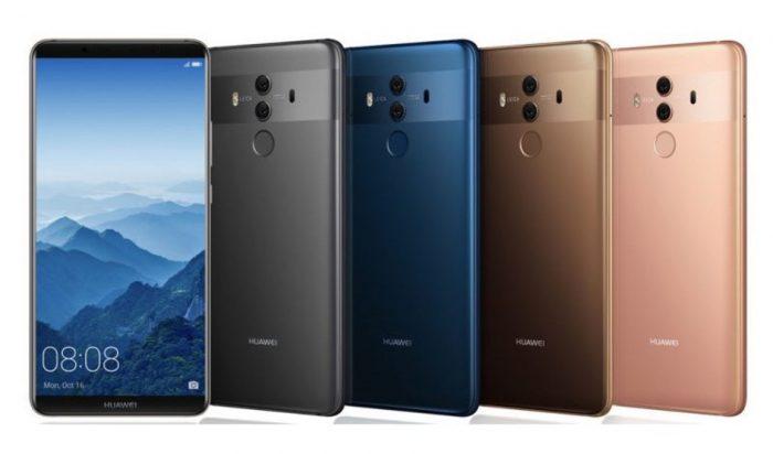 Huawei presenta Mate 10, Mate 10 Pro y Porsche Design