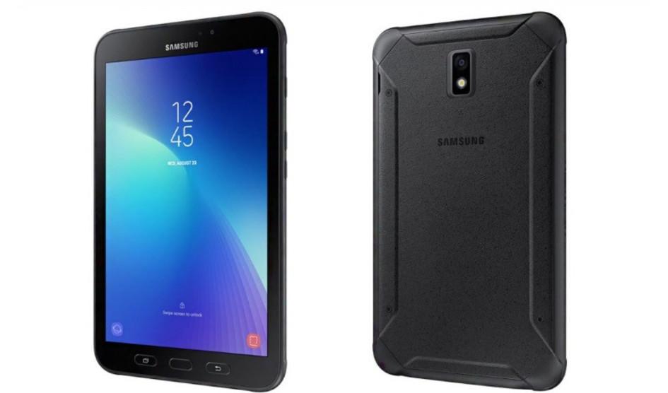 Samsung Galaxy Tab Active 2 con un aspecto robusto
