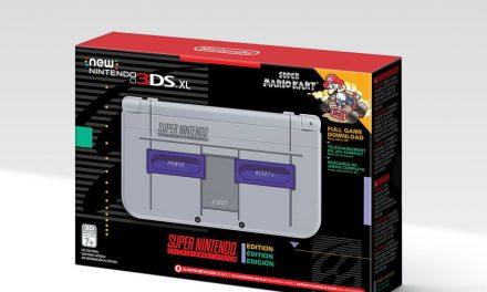 New 3Ds XL con un diseño de la SNES disponible en US