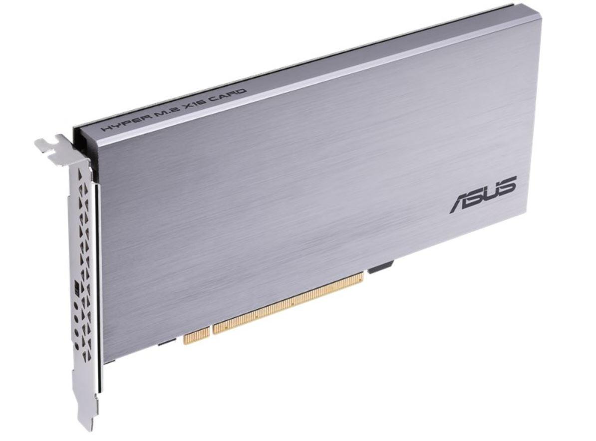ASUS lanza su Hyper M.2 x16 Riser Card