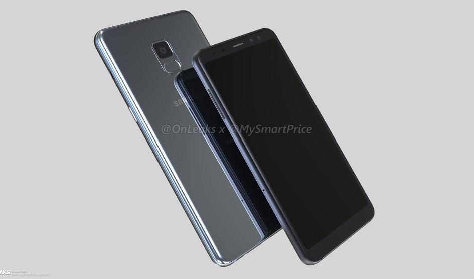 Samsung Galaxy A5 con pantalla infinita