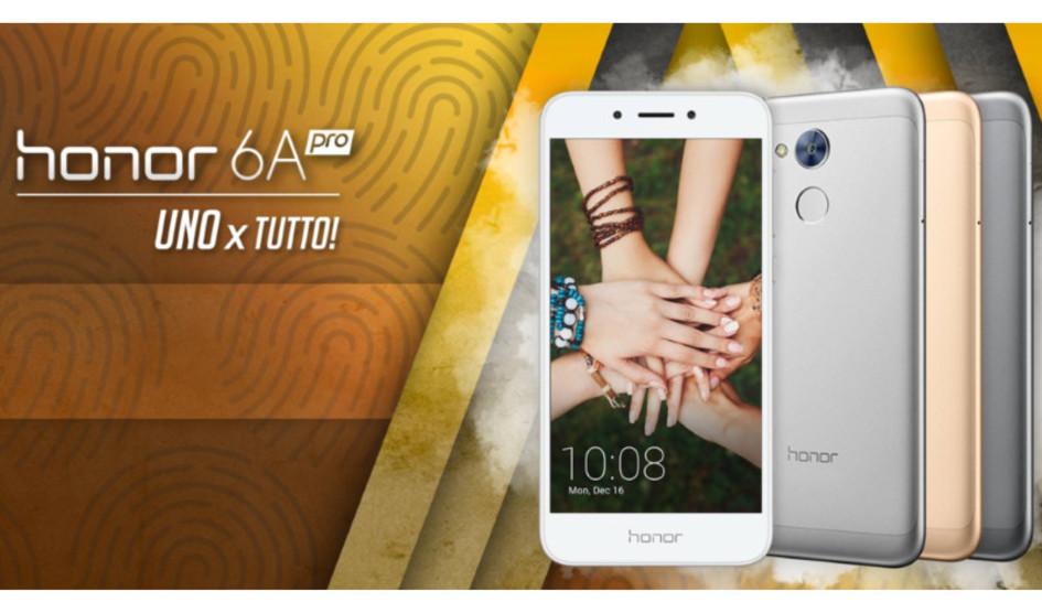 Huawei Honor 6A Pro llega a Europa