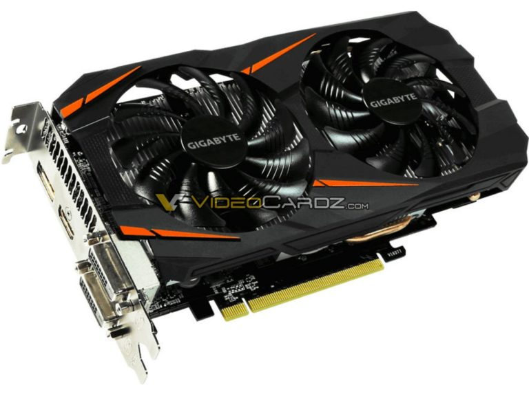 Gigabyte GeForce GTX 1060 5GB Windoforce OC, avistada