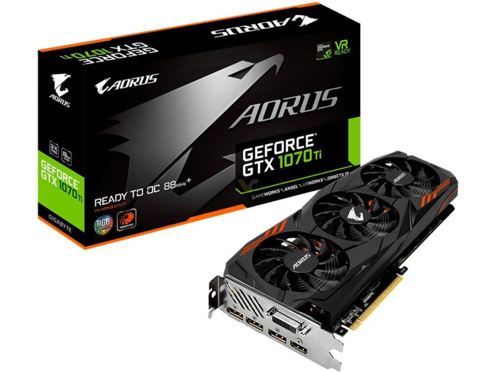 Gigabyte presenta la GeForce GTX 1070Ti Aorus