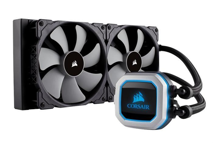 Corsair lanza sus nuevos sistemas de refrigeración líquida H115i Pro y H150i Pro
