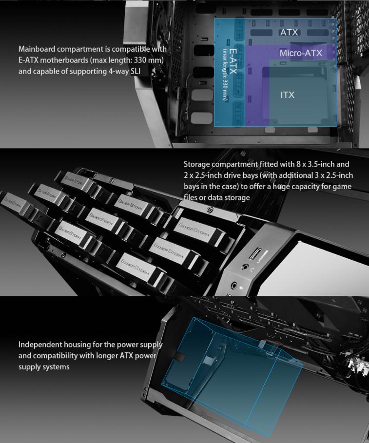 DeepCool lanza su nueva y atractiva torre QuadStellar