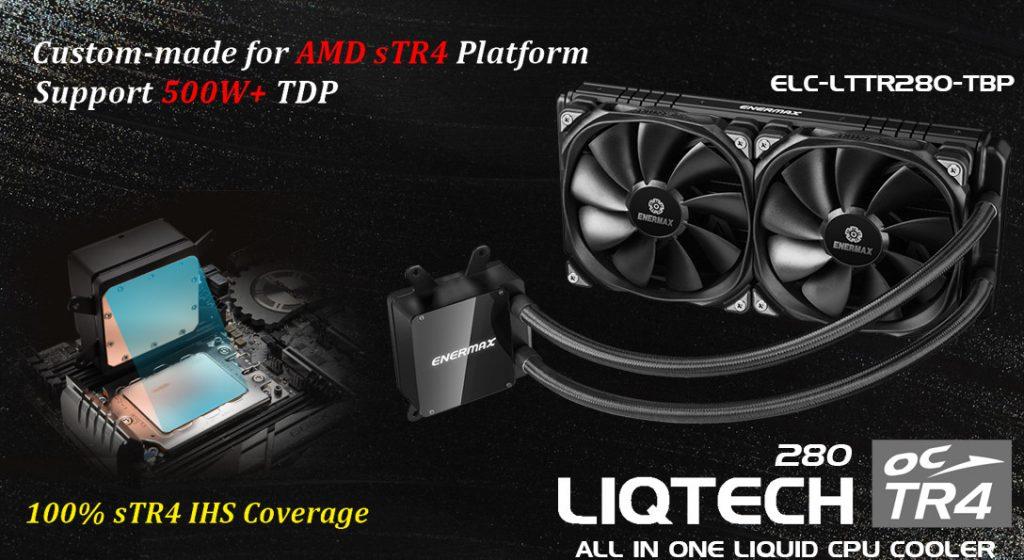 Enermax lanza su nuevo sistema de refrigeración líquida Liqtech TR4 280