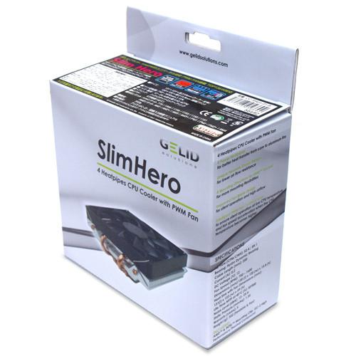GELID lanza el disipador Slim Hero con soporte para socket AM4
