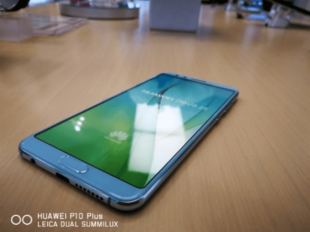 Huawei Nova 2S nuevamente avistado