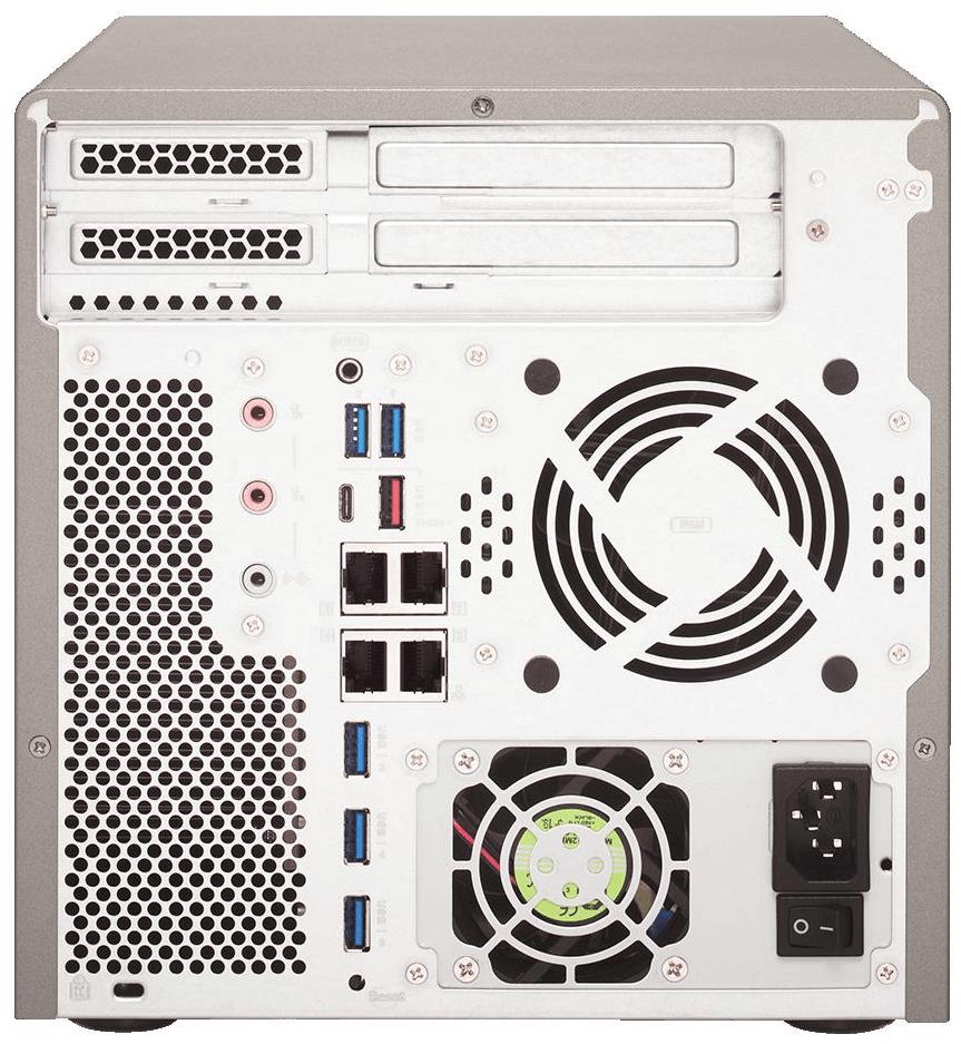 QNAP lanza servidor NAS TS-677 con CPU AMD Ryzen y hasta 6 bahías