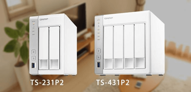 QNAP lanza servidor NAS TS-231P2 de 2 bahías