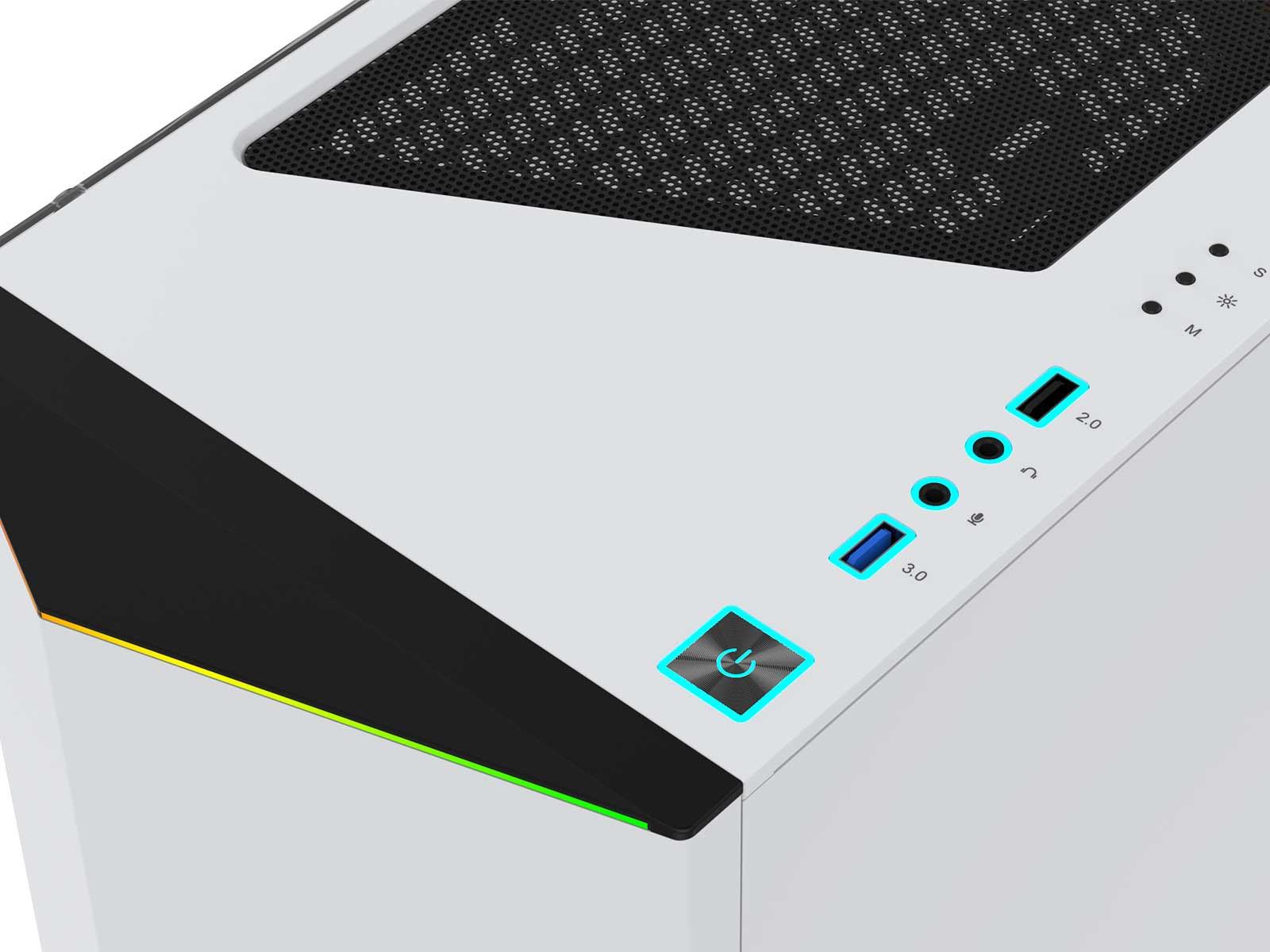 DeepCool lanza su nueva e imponente torre Earlkase RGB White Edition