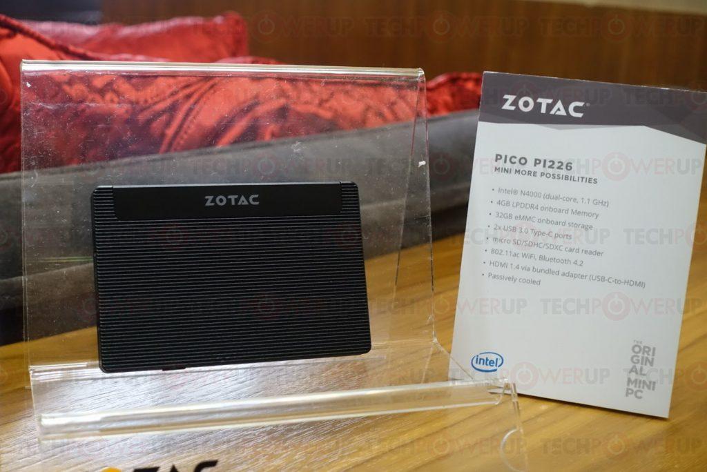 CES2018: ZOTAC presenta su Mini PC ultracompacto Pico PI226